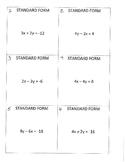 Standard Form to Slope Intercept Form