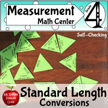 Measurement Standard Length Conversions Math Center medium