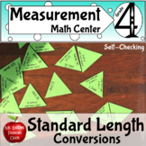Customary Measurement Conversion Length Math Center Activity Inches Feet Yards