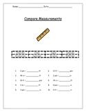 Standard Length Measurement Comparison