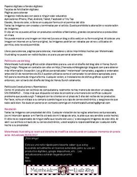 Standard License Agreement for Melonheadz Illustrating - Spanish Version