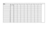 Standard Mastery Tracker- Any Grade Level- Editable