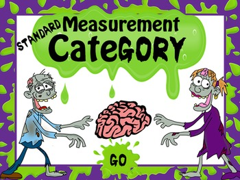 Standard Measurement CateGORY: A PowerPoint Game