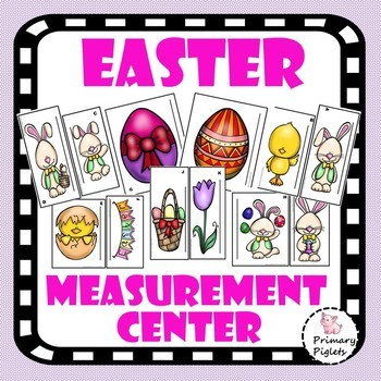 Standard Measurement Math Center Easter Set