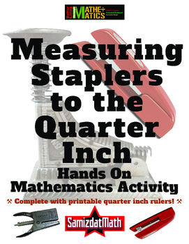 Standard Measurement to the Quarter Inch: Vintage Staplers!