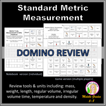 Standard Metric Measurement DOMINO REVIEW