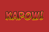 Text Effect - Comic Book #3 (Kapow!)