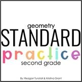 Standard Practice Geometry Second Grade