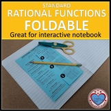 Standard Rational Functions Foldable