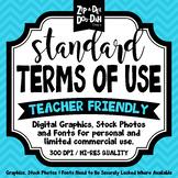 Standard Terms Of Use {Zip-A-Dee-Doo-Dah Designs}