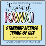 Standard Terms of Use (Keepin' It Kawaii Design)