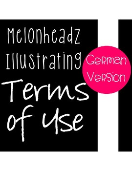 Standard Terms of Use for Melonheadz - German Version