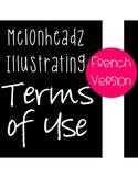 Standard Use Agreement for Melonheadz Illustrating - Frenc