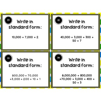 Standard, Word, and Expanded Form