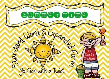 Standard, Word, and Expanded Form - Go Fish with a Twist