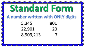 Expanded Form Posters & Worksheets | Teachers Pay Teachers