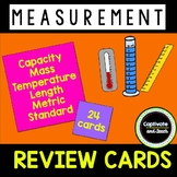Standard and Metric Measurement Review Task Cards