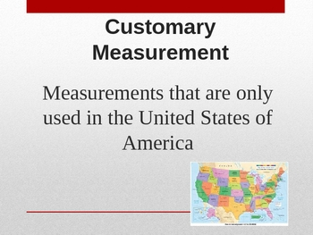 Standard and Metric Measurements