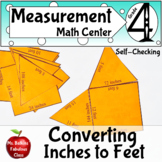 Measurement Customary Length Conversion Between Feet and Inches Math Center