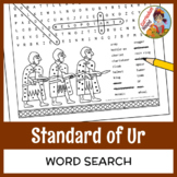 Standard of Ur Word Search - Mesopotamia, Sumer