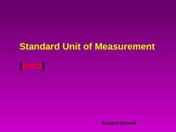 Standard unit of measurement