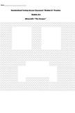 Standardize Testing ''Bubble in'' Practice - Minecraft