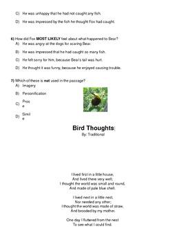 Standardized Assessment Packet-Cold Read Bundle-FCAT