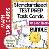 NWEA MAP Prep Math Practice Task Cards RIT Band 221-230 Intervention Bundle