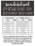Standardized State Test Prep/Study Guide Third Grade