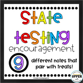 Standardized State Testing - Encouragement Notes for Students