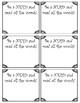 Standardized Test Motivational Gift Cards Printable- Black & White