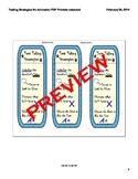 Standardized Test/ PARCC Multiple Choice Testing Strategies Smartboard