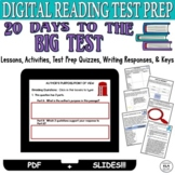 Standardized Test Prep Digital Reading Comprehension Passages and Questions