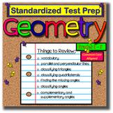 Math Geometry - Standardized Test Prep - Geometry - FUN Game Review!