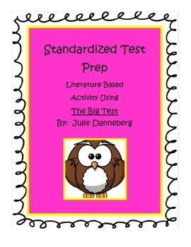 Standardized Test Prep Literature Based Activity