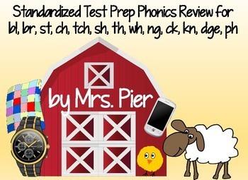 Standardized Test Prep Phonics Review
