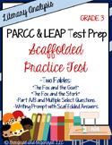 Test Prep Practice Test: PARCC/LEAP/Standardized Assmts- L