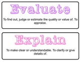 Standardized Test Prep Words