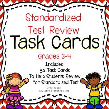 Math Task Cards Grades 3-4