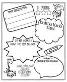 {Standardized} Test-Taking Poster For Kids