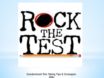 Standardized Test-Taking Tips