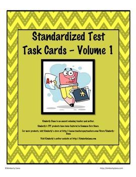 Standardized Test Task Cards - Volume 1