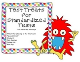 Test Treats for Standardized Tests