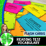 Reading Test Prep Flash Cards