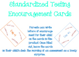 Standardized Testing Encouraging Cards for Students
