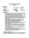 Standardized Testing: Keystone Biology Study Guide Bundle
