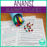 Folktale Reading Comprehension Passages and Questions: Anansi