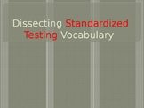 Standardized Testing Vocabulary