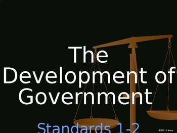 Standards 1-2 (Development of American Government) GSE