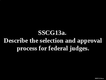 Standards 13-14 (The Judicial Branch, Criminal Justice System) GSE